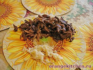 Вегетарианские макароны с грибами: Фото 4