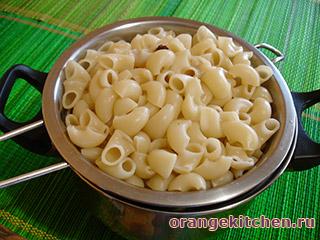 Вегетарианские макароны с грибами: Фото 5