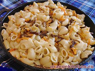 Вегетарианские макароны с грибами: Фото 6
