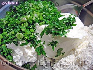 Вегетарианские бутерброды с острой творожной пастой: Фото 2
