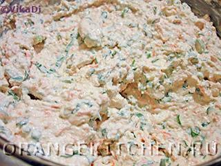 Вегетарианские бутерброды с острой творожной пастой: Фото 4