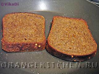 Вегетарианские бутерброды с острой творожной пастой: Фото 5