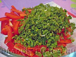 Вегетарианский салат с кукурузой: Фото 4