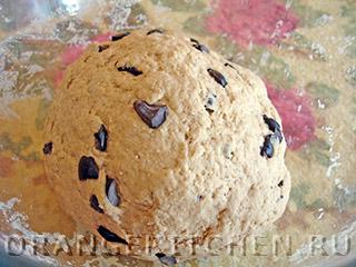 Постный хлеб с ячменной мукой: Фото 3