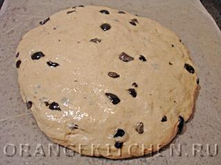 Постный хлеб с ячменной мукой: Фото 4