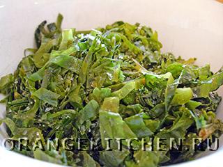 Блюдо из гречки с шампиньонами и шпинатом: Фото 3