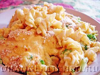 Вегетарианские рецепты с фото: макароны с сырным соусом из кешью
