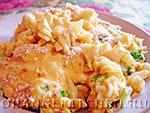 Вегетарианский рецепт макарон с сырным соусом из кешью