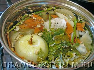 Вегетарианский постный суп с кукурузой: Фото 1