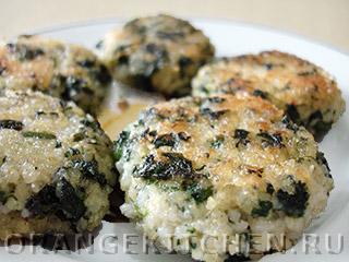 Вегетарианские рецепты с фото: биточки с крапивой