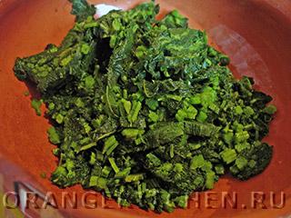 Вегетарианская вермишель с крапивой: Фото 3