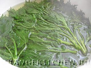 Вегетарианские зеленые щи с крапивой и щавелем: Фото 1