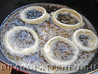 Жареные луковые кольца в кляре: Фото 4