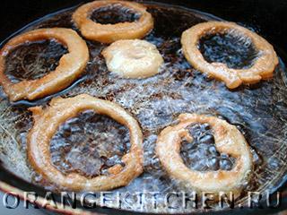 Жареные луковые кольца в кляре: Фото 5