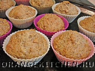 Рецепты пирогов и кексов без масла и яиц: овсяные маффины с орехами