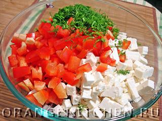Вегетарианский салат с нутом: Фото 4