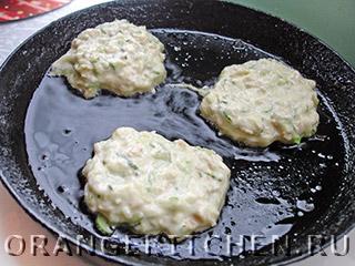 Кабачковые оладьи без яиц: Фото 5