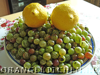 Варенье из крыжовника с лимоном: Фото 1