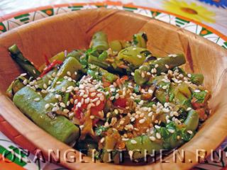 Вегетарианский рецепт лобио с фасолью