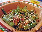 Вегетарианские овощные блюда: лобио из стручковой фасоли