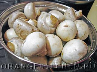 Вегетарианский картофельный салат с грибами: Фото 1