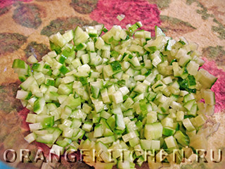 Вегетарианский картофельный салат с грибами: Фото 2