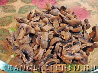 Вегетарианский картофельный салат с грибами: Фото 4