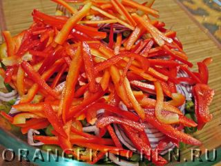 Постный салат из стручковой фасоли: Фото 4