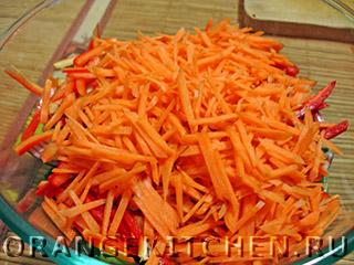 Постный салат из стручковой фасоли: Фото 5