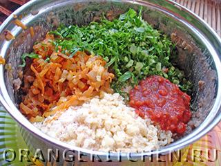 Вегетарианские котлеты из чечевицы: Фото 5