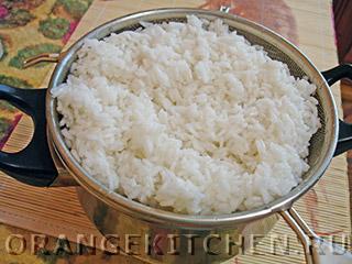 Постный плов с тыквой и фасолью: Фото 3