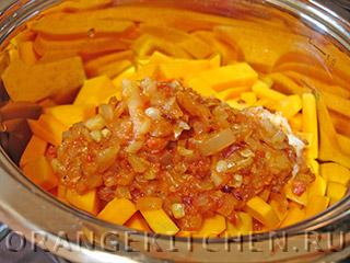 Постный плов с тыквой и фасолью: Фото 7