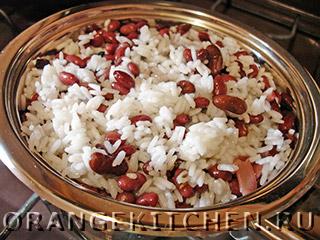 Постный плов с тыквой и фасолью: Фото 8