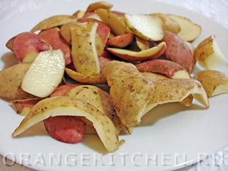 Жареные картофельные очистки: Фото 2