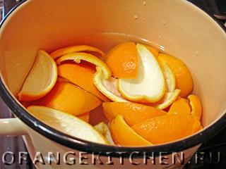 Цукаты из апельсиновых корок: Фото 1