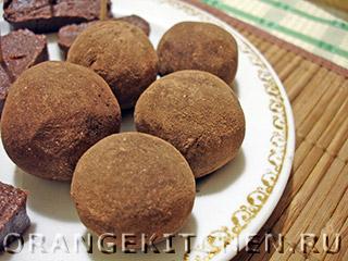 Шоколадная колбаска из печенья: Фото 9