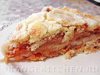 Вегетарианские рецепты с фото: сухой яблочный пирог