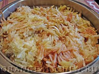 Вегетарианский сухой яблочный пирог: Фото 2