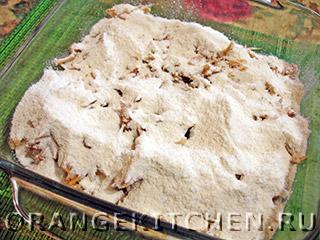 Вегетарианский сухой яблочный пирог: Фото 3