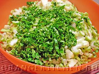 Вегетарианский картофельный салат с сельдереем: Фото 4