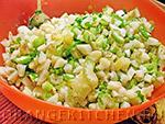 Вегетарианский рецепт постного картофельного салата