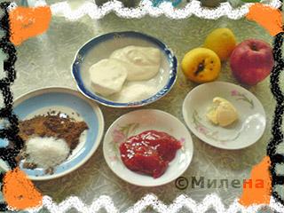 Десерт из яблок День и ночь: Фото 1