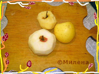 Десерт из яблок День и ночь: Фото 2