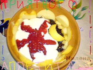 Десерт из яблок День и ночь: Фото 8