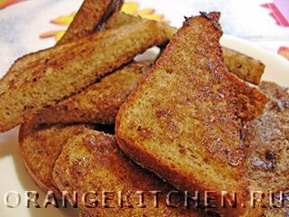 Вегетарианские рецепты с фото: французские тосты без яиц