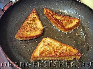 Французские тосты без яиц и молока: Фото 5