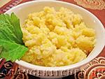 Вегетарианский рецепт постной каши из кукурузной крупы