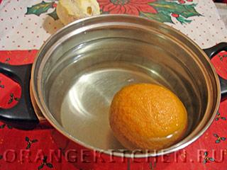 Постное апельсиновое печенье без яиц: Фото 1