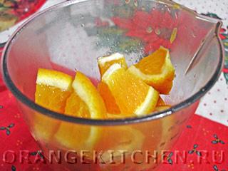 Постное апельсиновое печенье без яиц: Фото 3