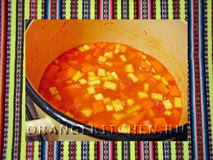 Вегетарианское блюдо чили с фасолью: Фото 4
